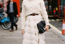 Maglione con le trecce/cable knit sweater