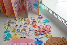 Busy Book Doll Houses