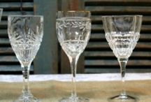 Silver and Glass / Vintage decor incorporating antique silver and glass. / by Vintage Vignettes
