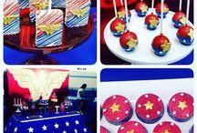 Superheros party girl ideas