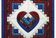 I ❤ log cabin quilts / Simply the best quilt pattern / by Debbie Humm-Bremser