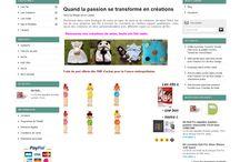 Notre Boutique / Site de vente de laine en ligne