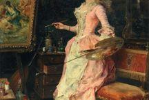 Federico Andreotti / (1847 – 1930) an Italian painter