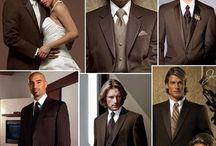 How To Do A Chocolate Brown Wedding / Chocolate Brown Wedding Invitations Ideas and Wedding Decor Ideas.