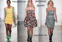 Jeremy Scott / Jeremy Scott collezione e catalogo primavera estate e autunno inverno abiti abbigliamento accessori scarpe borse sfilata donna.