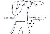 Punching bag workouts