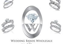 Diamond Bridal Sets / Beautiful diamond bridal sets, 14K, 18K, platinum, and many styles to choose from online. One diamond, two diamonds, many diamonds... we have a HUGE online selection of bridal set rings.