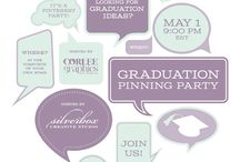 A Graduation Party / If you won a prize please contact Silverbox at info@silverboxcreative.com or Corlee Graphics at corinne@corleegraphics.com  Thanks for joining us! / by Silverbox Creative Studio