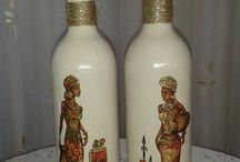 Bottles,glases and Vases
