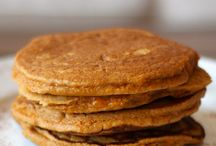 Pancakes, muffins, protein bars / by Kimberly Saxton