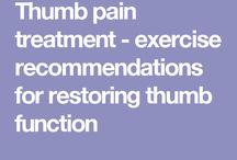 Thumb exercises