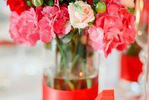 Rot / Wedding Dekoideen