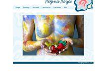 Regina Reyes / http://reginareyes.com/ Primer sitio desarrollado para webXSP por @hecttormendoza. Construido con HTML y para las foto galerías aplicamos un componente de jQuery