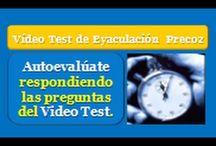 Vídeo Test de Eyaculación Precoz / Autoevalúate