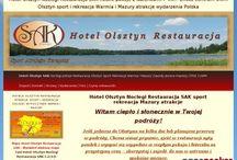 Hotel Olsztyn Noclegi Restauracja SAK / Odwiedź #HotelOlsztyn #OlsztynNoclegi Hotel Olsztyn Noclegi Restauracja SAK  1-2-3-4 osobowe pokoje gościnne wszystkie z dużymi łazienkami TV, WiFi, na zamówienie śniadania serwujemy do pokoju dla Gości na uzgodnioną godzinę.  W Hotelu SAK Restauracja Olsztyn dwudaniowe zestawy obiadowe do wyboru dla wygody Podróżnych.  hotelsak.pl