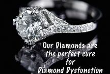 Diamond Dysfunction / Does your diamond suffer from Diamond Dysfunction?  We can help.