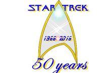 STAR TREK 50th anniversary logo / Star Trek 50 aniversario logotipo