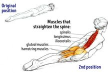 Healthy stretch / Yoga and other poses that can make the pain go away