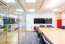 TSK // Our London Office / Images of our office in London, a live demonstration of an optimum workplace setting