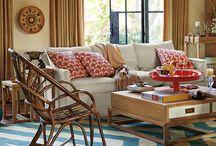 cozy family room / by Kim Wade