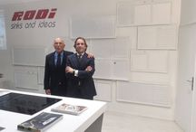 2017 CEVISAMA Exhibition / RODI at the 2017 CEVISAMA Exhibition, that took place at Valencia - Spain, from the 20th to the 24th of February.