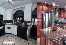 Before and After Photos / Before and after photos submitted by our customers of their new beautiful kitchens!