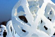 Snow sculptures  / by Lorraine Hanks