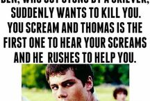 Thomas imagines