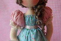 bonecas d crochê