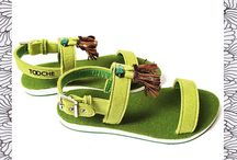 TOOCHE sandals from wool felt. / The most comfortable summer shoes in the world!
