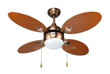 Ceiling Fans With Lights / by Brittney Madsen
