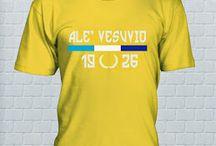 ALE' VESUVIO  T-SHIRT / ElNaple 1926 fanshop T-shirt  http://bit.ly/ElNapleFanShop