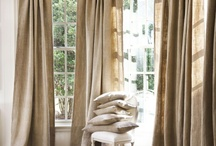 Jute and curtains / Jute and curtains