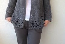 Háčkování -svetry