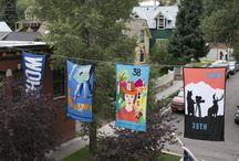 Main Street Banner Art