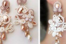 soutache wedding jewellery