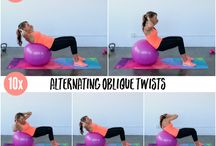 Stabiliteitbal workouts