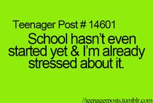 Teenager post / All these weird and stupid things....  / by laura thostrup