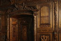 castle interior woodwork