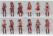 Clothing and Character Design Inspiration / by Meredith Robinson