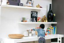 Inspiratie kinderhoek woonkamer