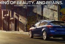 Introducing the 2015 Focus / A Thing of Beauty. And Brains.