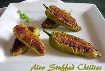 Aloo Stuffed Chilli