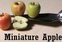 video tutorials: food (fruit) / Video tutorials for dollhouse scale fruit.