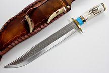 Messer und Taschenmesser