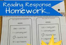 Classroom - Reading/Language Arts activities