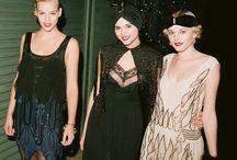 Flapper fashion  / For flapper fashion inspiration see this blog post http://fabgabblog.com/2012/10/flapper-fashion-for-halloween/