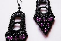 Clips øreringe med perler