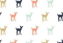 Girls quilt fabric