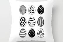 * Scandinavian Easter Eggs